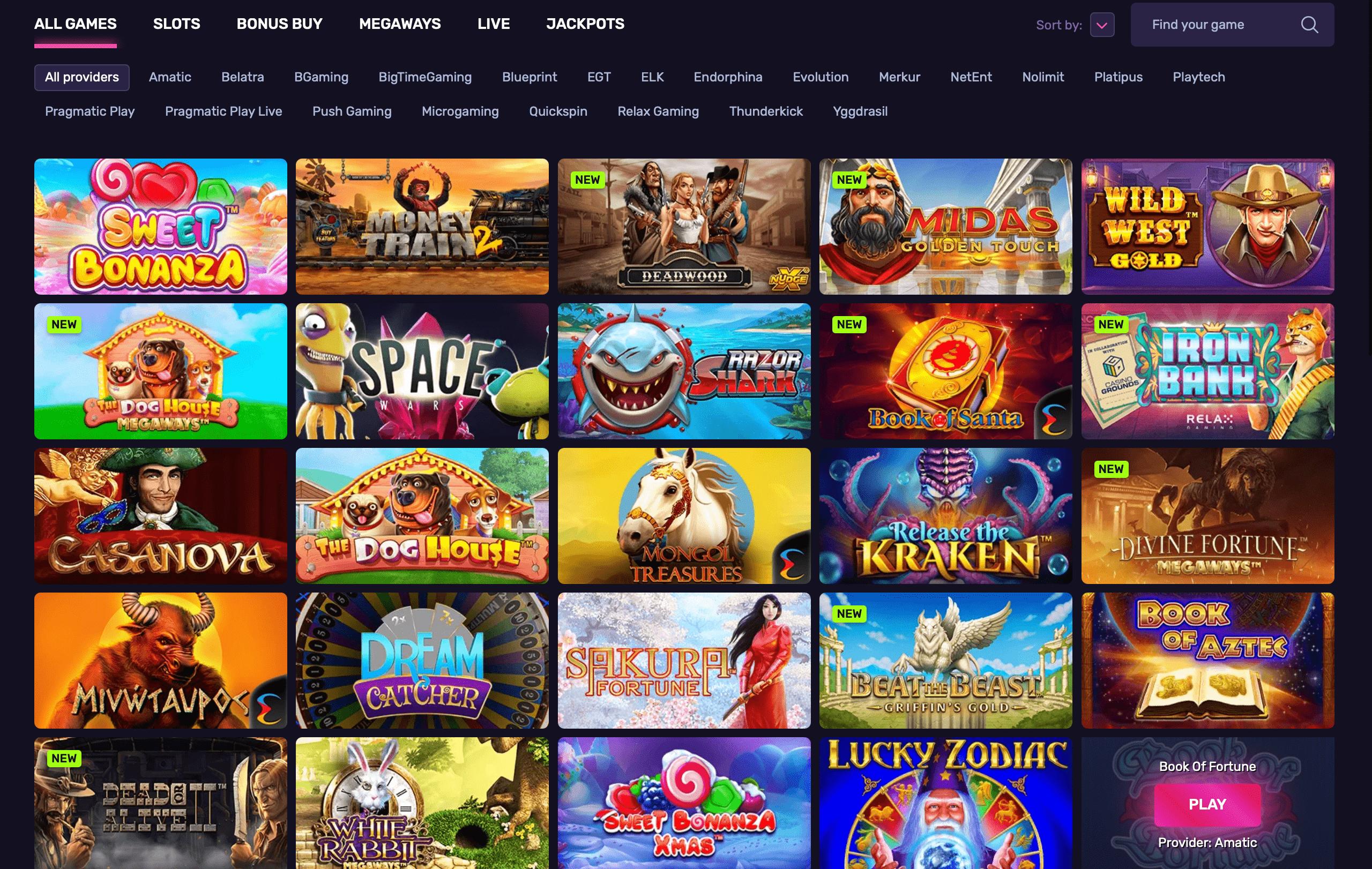 dlx casino games, casino games