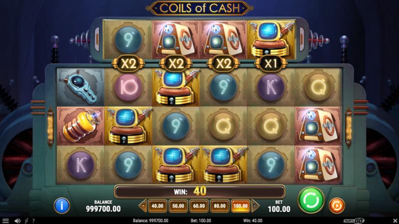 coils of cash multiplier