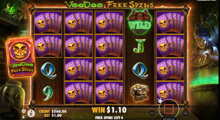 voodoo magic free spins