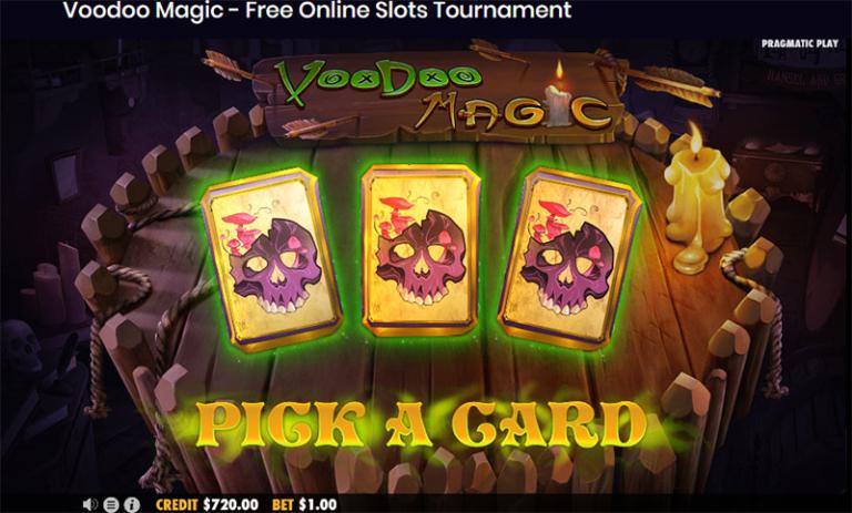 voodoo magic pick a card
