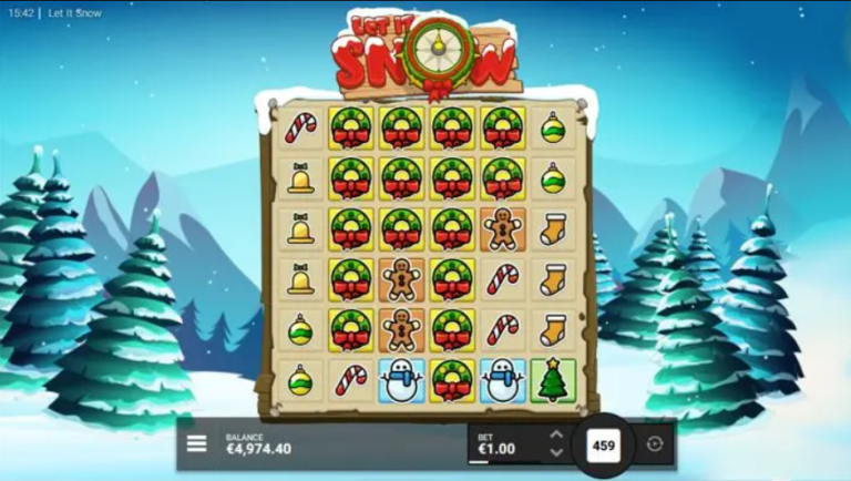 let it snow free spins