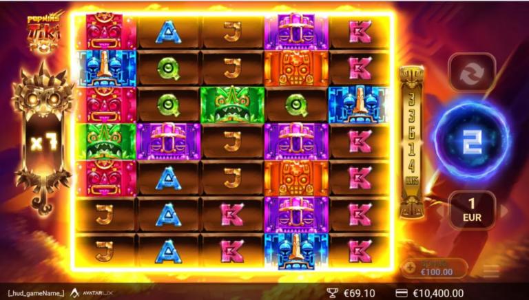 TikiPop Yggdrasil Gaming win