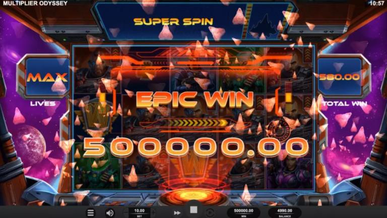 multiplier odyssey super win