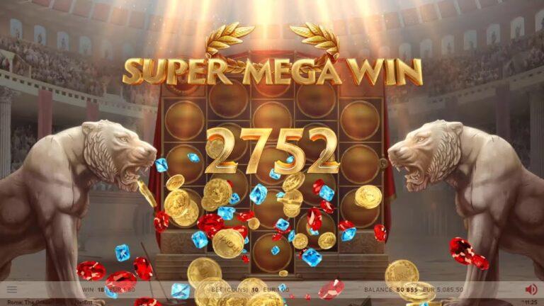 rome the golden age NetEnt big win