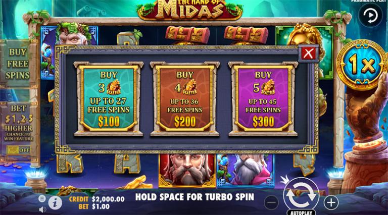 the hand of midas buy fs