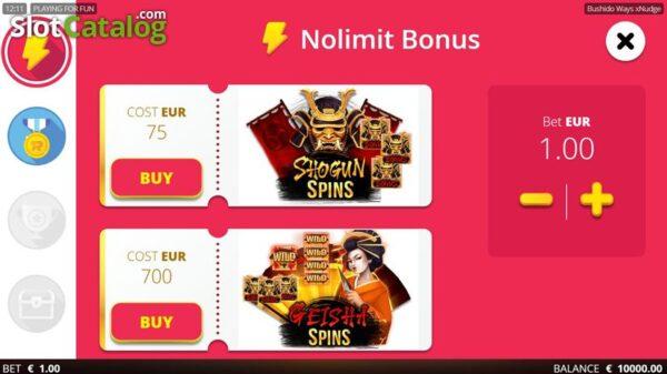 Bushido-Ways-xNudge-nolimit-bonus