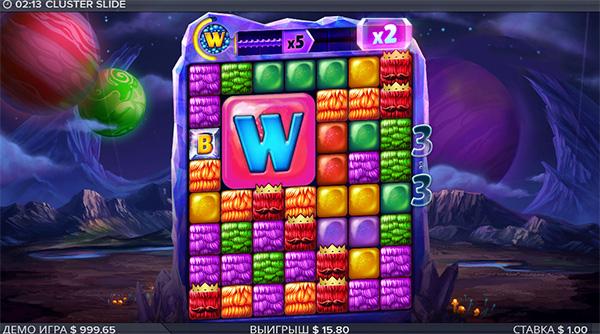 cluster-slide-bonus-game