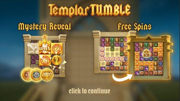 templar-tumble-free spins